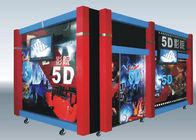 Hydraulic Electric 5D 7D Cinema / 6 8 9 12 Seats Virtual Reality Equipment