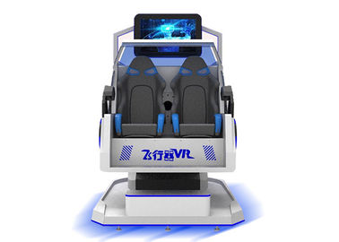 2 Seats Roller Coaster 9d VR Simulator Game Machine